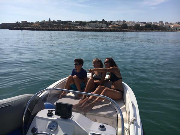 B Boat 009 - Marina boat Charters Lagos Algarve Portugal