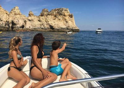 B Boat 066 - Marina boat Charters Lagos Algarve Portugal
