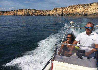 B Boat 103 - Marina boat Charters Lagos Algarve Portugal