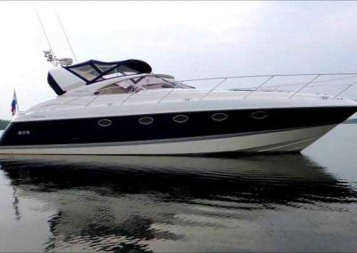 Fairlin Targa 43 Marina Boat charters Lagos