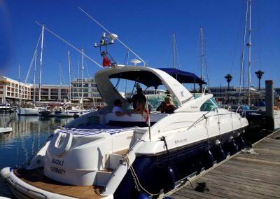 Fairline Targa 43 Marina Boat Charters 1