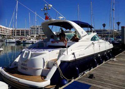 Fairline Targa 43 Marina Boat Charters 1a