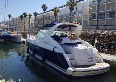 Fairline Targa 43 Marina Boat Charters 5